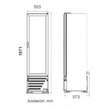 Dimensiones Refrigerador VR10