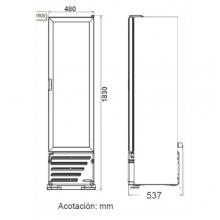 Dimensiones Refrigerador VR8