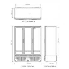 Refrigerador G3-42 Dimensiones